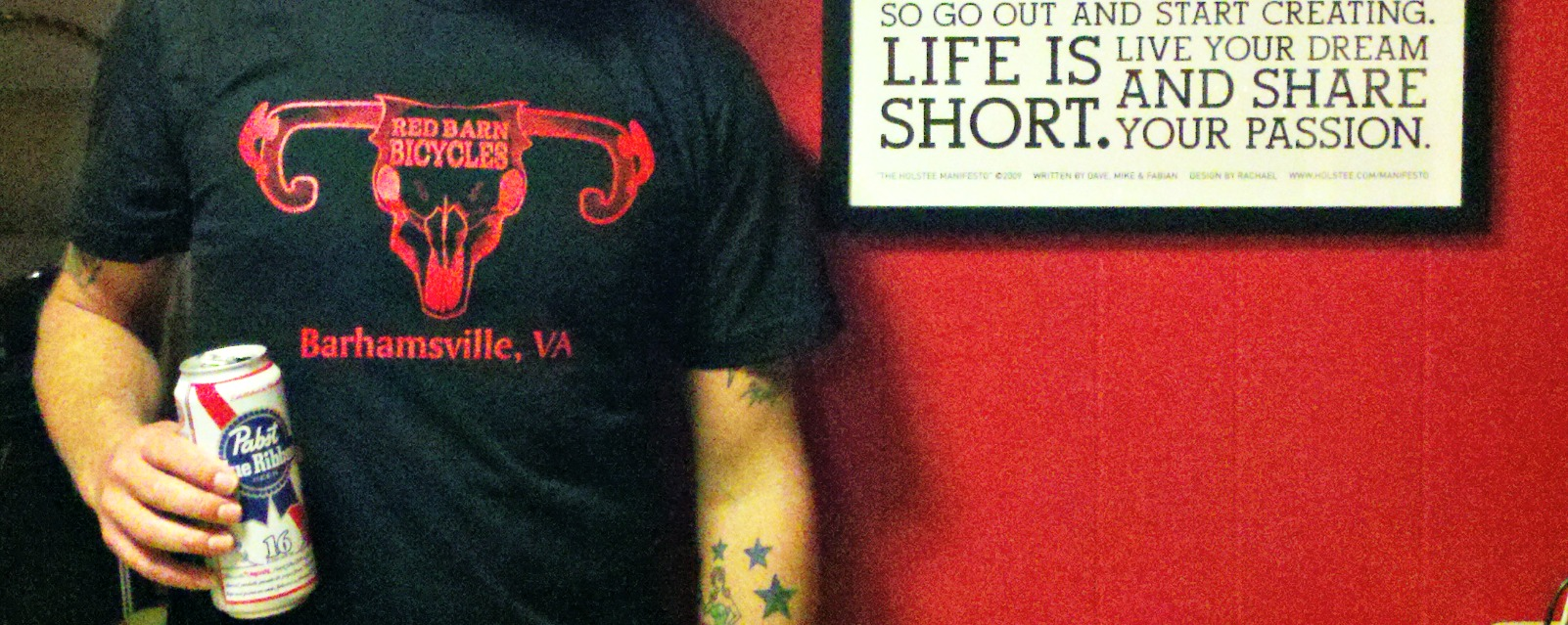 Red Barn Bicycles T shirts