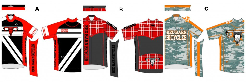Red Barn Bicycles Jersey Voting