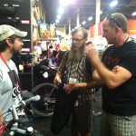 Revelate Designs Booth at Interbike