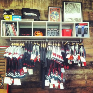 Red Barn Cycling Kit on Display